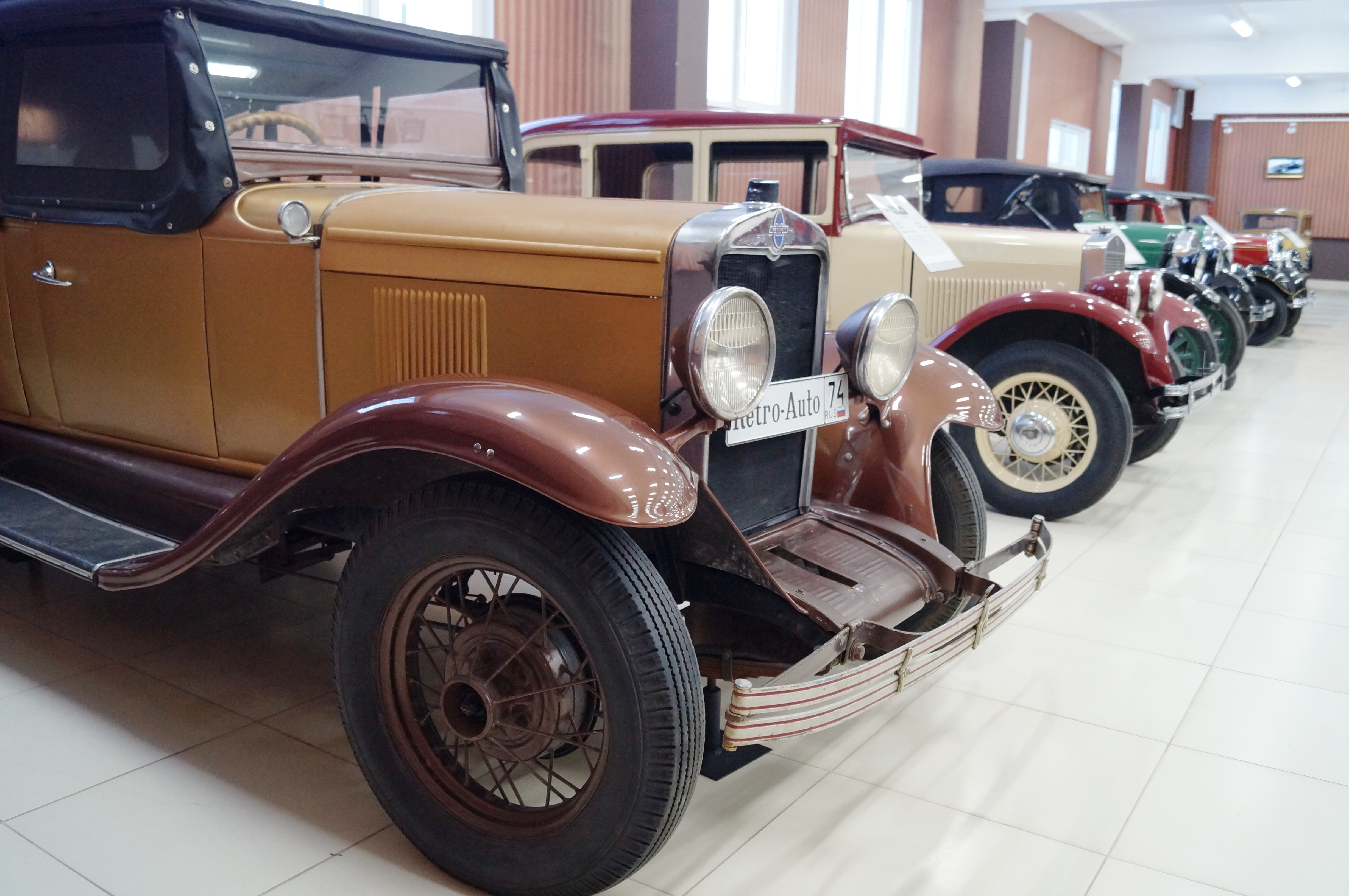 Chevrolet AC Open Tourer - 1929 г.
